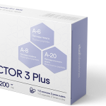 Protector 3 Plus Peptide Complex - Improves blood quality Improves sleep quality-Increases efficiency and performance-Has pronounced anti-stress and antioxidant effects